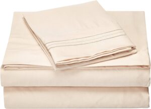 2000 Thread Count Sheets Sets Giza Cotton Micrp