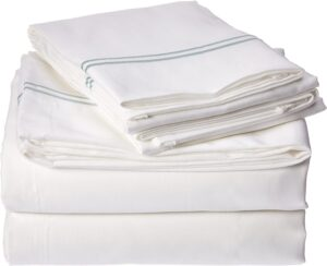 Embroidered 1200 Thread Count Sheets