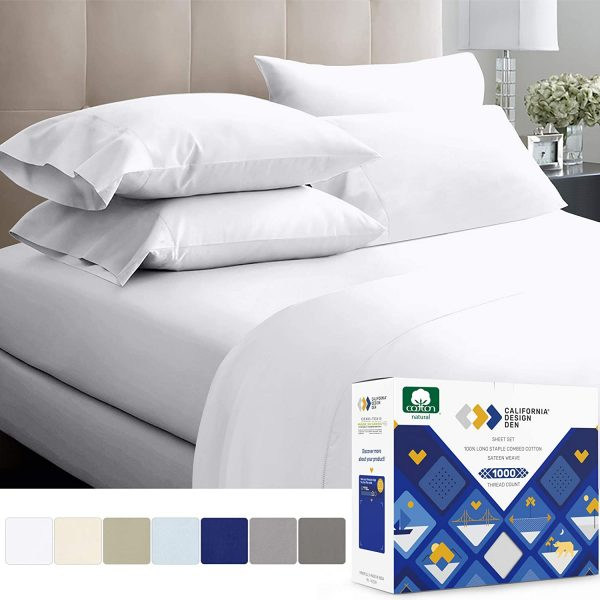 1000 Thread Count Sheets from Long-Staple Egyptian Cotton topbestbedding